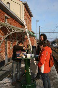 Actie 2011 Herstel stationsgebouw Herzele