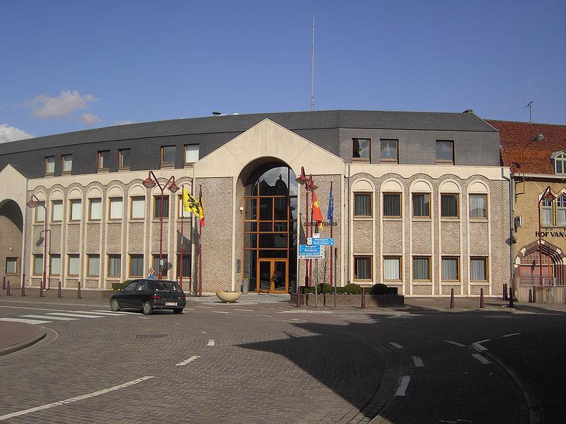 Foto gemeentehuis Herzele